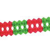Christmas Arcade Garland - red & green