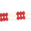 Valentines Day Arcade Garland - red & white