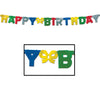 Birthday Party Supplies - Foil Happy Birthday Streamer