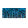 1-Ply Metallic Fringe Drape - blue