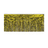 Packaged 1-Ply Fire Resistant Metallic Fringe Drape - gold