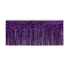 1-Ply Metallic Fringe Drape - purple