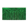 2-Ply Metallic Table Skirting - green