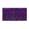 2-Ply Metallic Table Skirting - purple