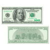 Casino Party Supplies - Big Bucks Cutout $100 Bill