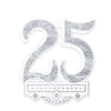 Anniversary Party Supplies - 25th Anniversary Crest
