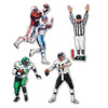 Football Party Supplies - Packaged Football Figures