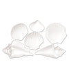Luau Party Supplies - White Plastic Seashells