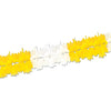Party Decorations - Pageant Garland - canary & white