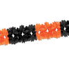 Pageant Garland - orange & black