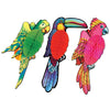 Luau Party Supplies - Madras Tissue Exotic Birds
