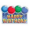 Birthday Party Supplies - Glittered Happy Birthday Sign