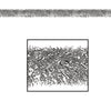Fire Resistant Gleam 'N Tinsel Garland - silver