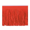 Party Decorations - Tissue Fringe Drape - red