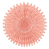 Tissue Fan Blush Pink, party supplies, decorations, The Beistle Company, General Occasion, Bulk, General Party Decorations, Party Tissue Fans