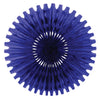Party Decorations - Tissue Fan - blue