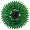 Party Decorations - Tissue Fan - green