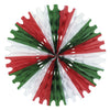 Cinco de Mayo Party Tissue Fan - red, white, green