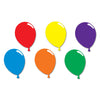 Birthday Party Supplies - printed Balloon Silhouettes