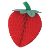 Party Decorations - Tissue Strawberry