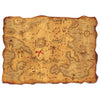 Pirate Party Supplies - Plastic Treasure Map