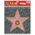 Hollywood Walk of Fame Star' Peel-N-Place (12ct)