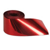 Fire Resistant Gleam 'N Streamer Metallized Streamer - red