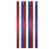1-Ply Fire Resistant Gleam 'N Curtain - red, white, blue