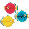 Luau Party Supplies - Tissue Bubble Fish
