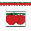 Party Decorations - Tissue Apple Garland