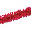 Party Decorations - Packaged Tissue Festooning - red