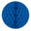 Party Decorations - Tissue Ball - blue