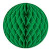 Party Decorations - Tissue Ball - green