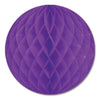 Party Decorations - Tissue Ball - purple