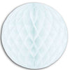 Party Decorations - Tissue Ball - white