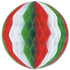 Christmas Tissue Ball Decoration