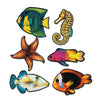 Luau Party Supplies - Packaged Fish Cutouts