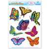 Spring & Summer Party Supplies - Butterfly Clings