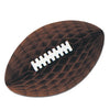 Football Party Supplies - Packaged Tissue Football with Laces
