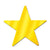 Awards Night Decoration Die-Cut Foil Star gold (72ct)