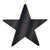Awards Night Decoration Die-Cut Foil Star black (24ct)