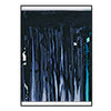 2-Ply Metallic Fringe Drape - black