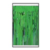 2-Ply Metallic Fringe Drape - green
