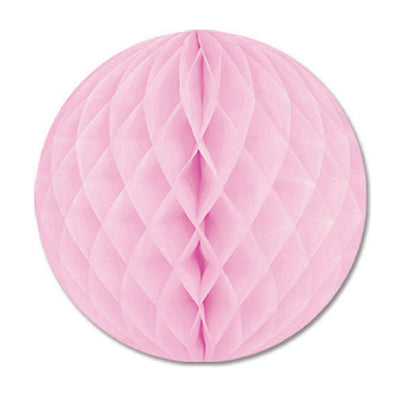 Party Decorations - Packaged Tissue Ball - pink