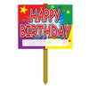Birthday Party Supplies - Happy Birthday Yard Sign