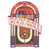 Rock and Roll Party Supplies - Juke Box Cutout