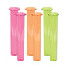 Neon Test Tube Shot Glasses - Luau Party Novelty Items