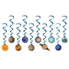 Back to School Decorations - Solar System Whirls