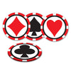 Casino Party Supplies - Casino Coasters