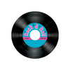 Rock and Roll Party Supplies - Rock & Roll Record Coasters